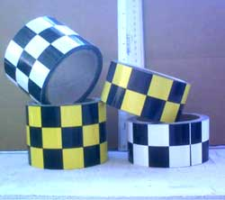 Chkr tape 2 sizes econ